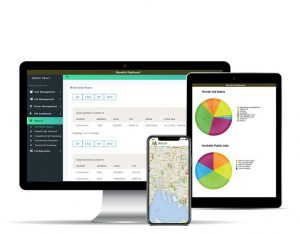 MoveIt4u app and dashboard for transport companies